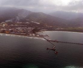 Нефтяной терминал и нефтеперерабатывающий завод в Пуэрто-Кабельо, самого крупного порта Венесуэлы.