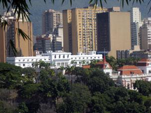 Президентский дворец Мирафлорес в Каракасе.